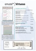 emutelTM Virtuoso - Arca Technologies - Page 5