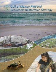 Gulf of Mexico Regional Ecosystem Restoration Strategy - US ...