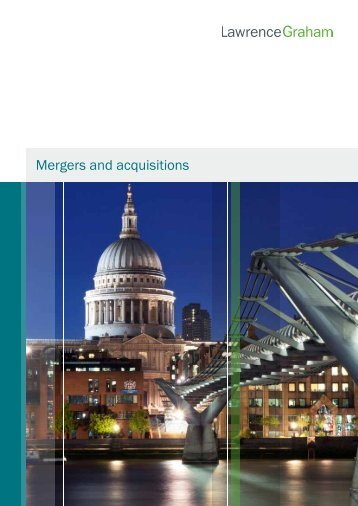 Mergers and acquisitions - Lawrence Graham
