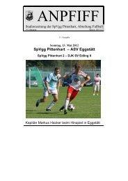 SpVgg Pittenhart – ASV Eggstätt