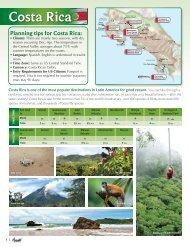 Costa Rica - Avanti Destinations