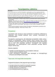 Teraviljatolmu vältimine - European Agency for Safety and Health at ...