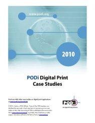 PODi Digital Print Case Study - Ipex