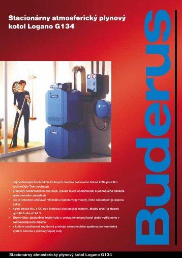 Stacionárny atmosferický plynový kotol Logano G134 - Buderus