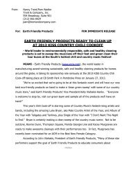 Chili Cook-Off Press Release-EFP- FINAL-1-15-13 - Earth Friendly ...