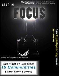 AF4Q In Focus - Wisconsin Hospital Association