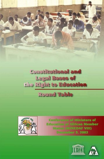 Constitutional and Legal Bases of the Right to Education - ADEA