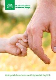 Hintergrundinformationen zum Weltgesundheitstag 2012 - Institut für ...