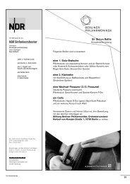 Muster Anzeigenteil als PDF - Das Orchester