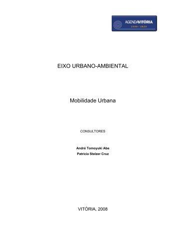 EIXO URBANO-AMBIENTAL Mobilidade Urbana - Prefeitura de Vitória