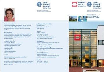 Flyer AOZ - Sankt Elisabeth Hospital