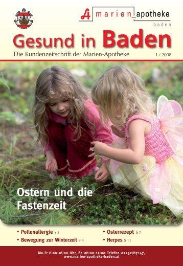 Baden Gesund In - Marien Apotheke Baden
