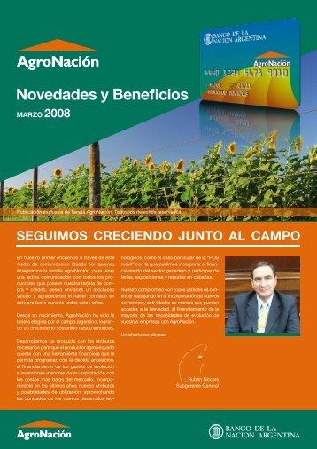 Novedades y Beneficios - Banco De La Nación Argentina