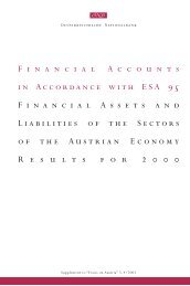 Financial Accounts 2000