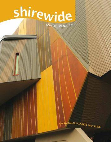 ISSUE 60 • SPRING • GAZINE - Shire of Yarra Ranges