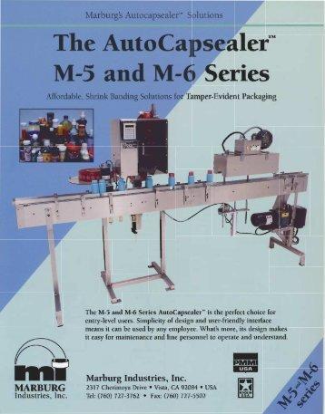 Marburg Cap Sealers M5 - M6.pdf - Modular Packaging Systems, Inc.
