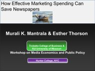 Presentation - Economics and Accounting at Hunter College