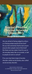 Social Phobia (Social Anxiety Disorder): Always Embarrassed