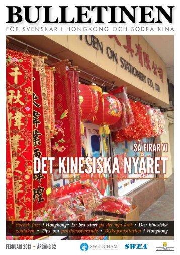 Bulletinen February 2013 - The Swedish Chamber of Commerce in ...