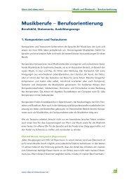 Kapitel-5.pdf: Musikberufe und Filmberufe - Ideen sind etwas wert