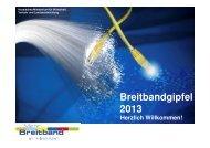 Umsetzung der hessischen NGA-Strategie - Breitband in Hessen
