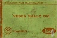 Vespa Rally 200 - Scooterhelp.com