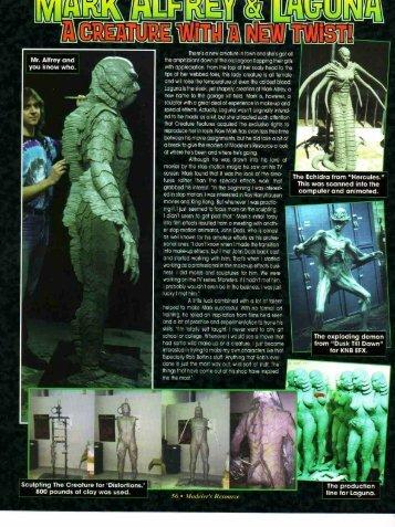 Modeler's Resource Magazine Feature - Mark Alfrey
