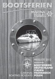 BOOTSFERIEN DEUTSCHLAND ITALIEN ... - Marina Travel AG