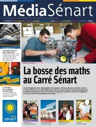 Le journaL de L'aggLomération I novembre 2011 I numéro 285 - Icam