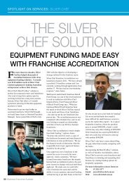 Spotlight on Services - Silver Chef.pdf - Business Franchise Magazine