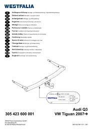 Audi Q3 305 423 600 001 VW Tiguan 2007 - Kfzpoint