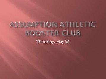 Assumption Athletic Booster club - Assumption High School