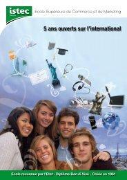 5 ans ouverts sur l'international - L'Etudiant