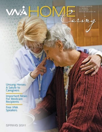 Spring 2011 - the Visiting Nurse Association of Northern New Jersey