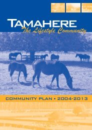 Tamahere Community Plan.FH11 - Waikato District Council