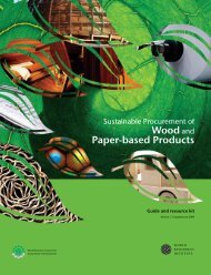 Wood and Paper-based Products