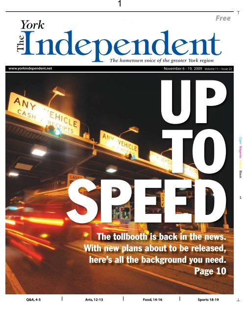 November 6 The York Independent