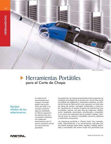 Herramientas Portátiles - Revista Metal Actual