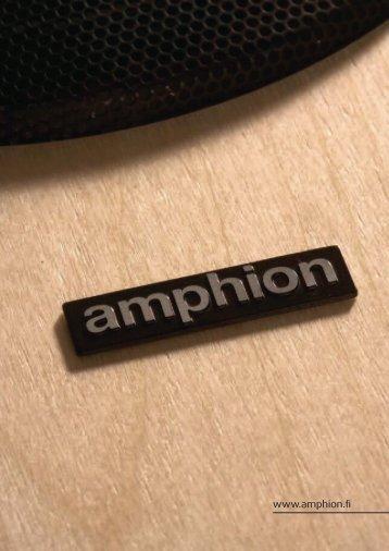 Amphion Catalog - VMAX Services