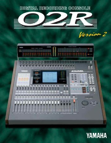 O2R Version2 catalog - Yamaha