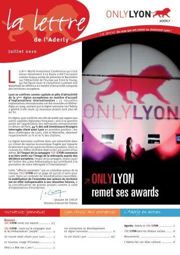 ≥ ONLYLYON remet ses awards - Aderly