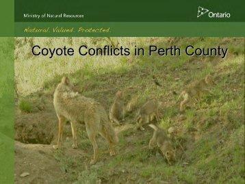 Presentation made at County Council, April 1, 2010 - Perth County