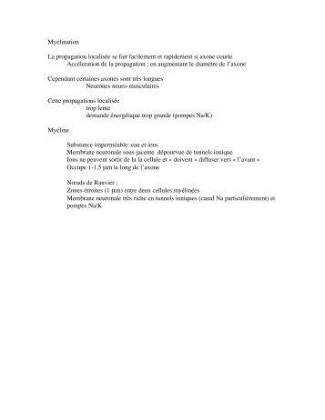 Notes de cours (3e partie)