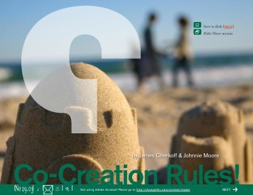 Co-creation Rules - Clickadvisor