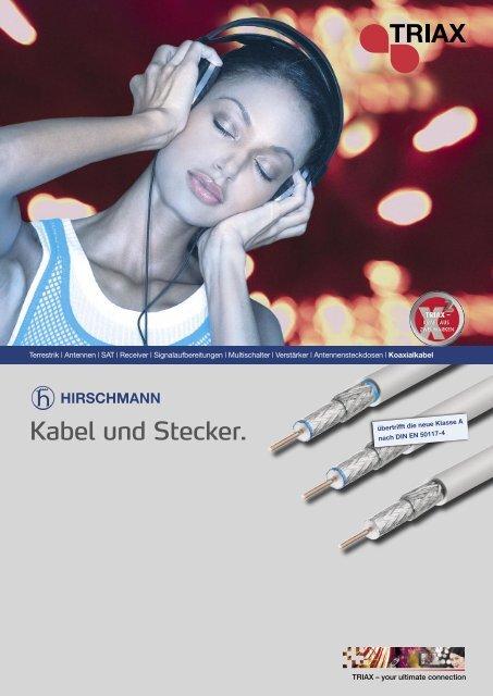 Kabel und Stecker.