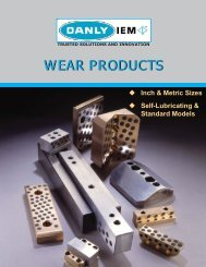Danly IEM Wear Products 1877 KB pdf - Anchor Danly