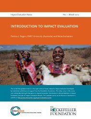 INTRODUCTION TO IMPACT EVALUATION - Eco-Index