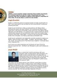 Composer's Bio: DOWNLOAD HERE (PDF FILE) - BDi Music
