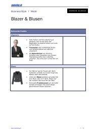Business-Style I Mode Blazer & Blusen - Marketing.ch