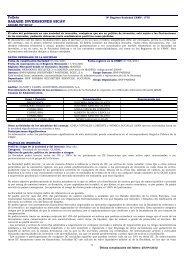 SASABE INVERSIONES SICAV - BNP Paribas